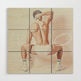 HOMO Wood Wall Art