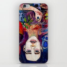 The Witch Named Elsa iPhone Skin