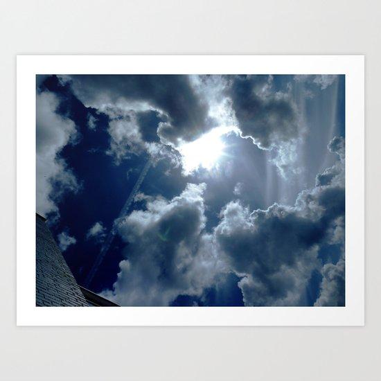 The Dutch Clouds 32 Art Print