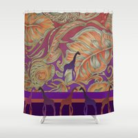 morocco Shower Curtains featuring  boho morocco by Ariadne