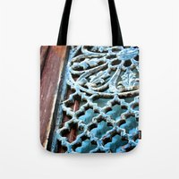 victorian Tote Bags featuring VICTORIAN by Katherson