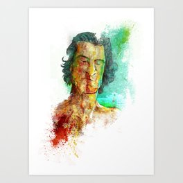 Max Cady Art Print