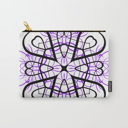 PURPLE SACRED GEOMETRY Carry-All Pouch
