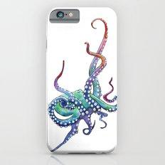 Rainbow Octopus iPhone 6 Slim Case