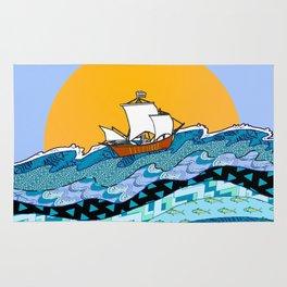 Sailing the High Seas Rug