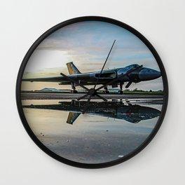 war bird relection Wall Clock