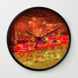 already there 4b Wall Clock