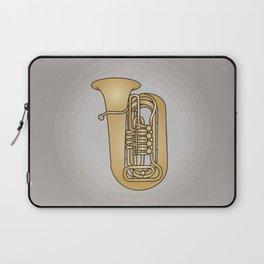 Tuba brass Laptop Sleeve