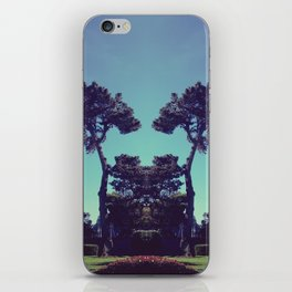 ink blot tree  iPhone Skin