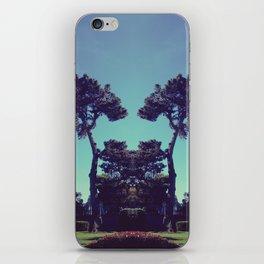 ink blot tree  iPhone Skin