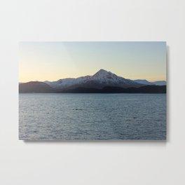 Barometer Mountain Photography Print Metal Print