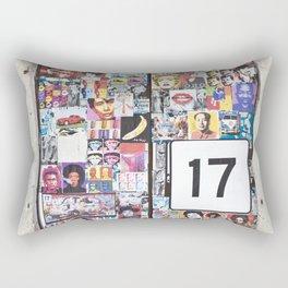 Piazza Duca di Genova 17 - Catania - Sicily Rectangular Pillow