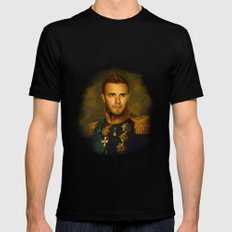 Gary Barlow - replaceface MEDIUM Black Mens Fitted Tee