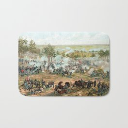 Battle Of Gettysburg -- American Civil War Bath Mat