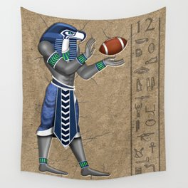 Seahawk Pharoah Wall Tapestry