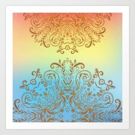 Sun Rising Art Print