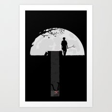 Dumped Art Print