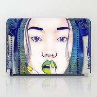 luna iPad Cases featuring Luna by Stevyn Llewellyn