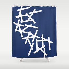 Hatches Shower Curtain