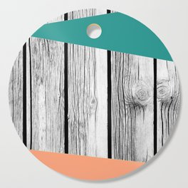 Colored arrows on wood Cutting Board
