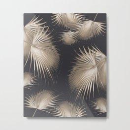 Fan Palm Leaves Paradise #5 #tropical #decor #art #society6 Metal Print
