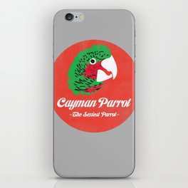 Cayman Parrot iPhone Skin