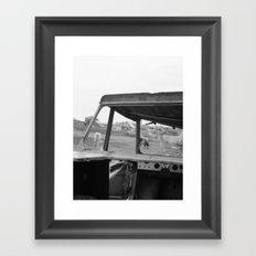 Olchon Framed Art Print