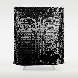 Ma.Trix Shower Curtain