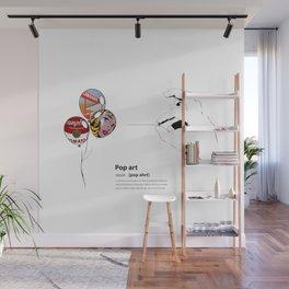 POP ART DICTIONARY Wall Mural