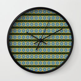 Sky Eye Tiles Wall Clock