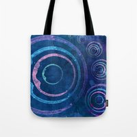 meditation Tote Bags featuring Meditation by Sonia Marazia