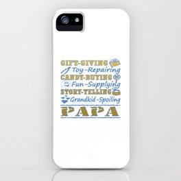 I'M A PROUD PAPA iPhone Case