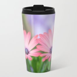 Twin osteospermum flowers Travel Mug