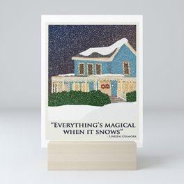 Gilmore girls house Mini Art Print