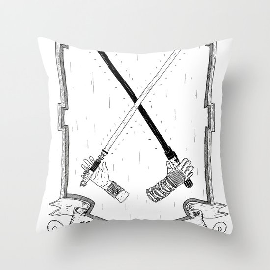 The Force! Throw Pillow