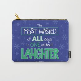 Laughter Carry-All Pouch