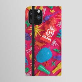 PRIDE (Plastic Menagerie Version) iPhone Wallet Case