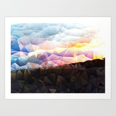 Candy on the Dunes Art Print