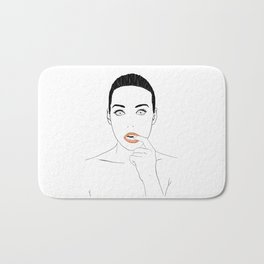 All i want is you Bath Mat