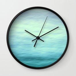 Ocean Blues - II Wall Clock
