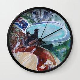 Owl & the Pussycat Wall Clock
