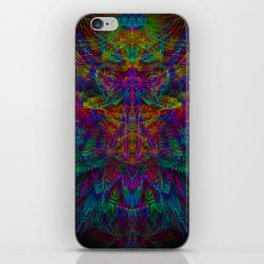 Unified with nature iPhone Skin