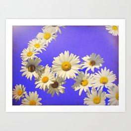 Daisy Chain Flower Art Art Print