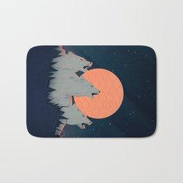 Howling Moon Bath Mat