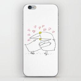 Bird Hug iPhone Skin