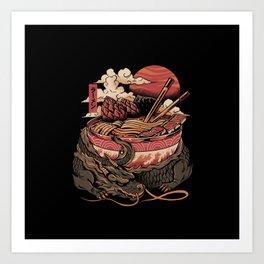 Dragon's Ramen Kunstdrucke