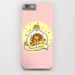 Red Lion In The Bottle iPhone Case