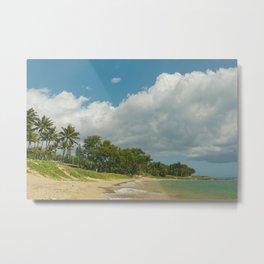 Waiohuli Maui Beaches Kihei Maui Hawaii Metal Print