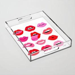 Lips of Love Acrylic Tray