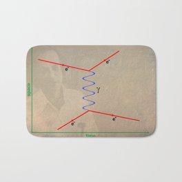 Feynman Diagram Bath Mat